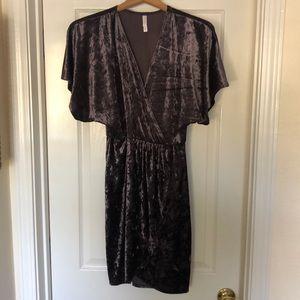 Velvet-like Dress